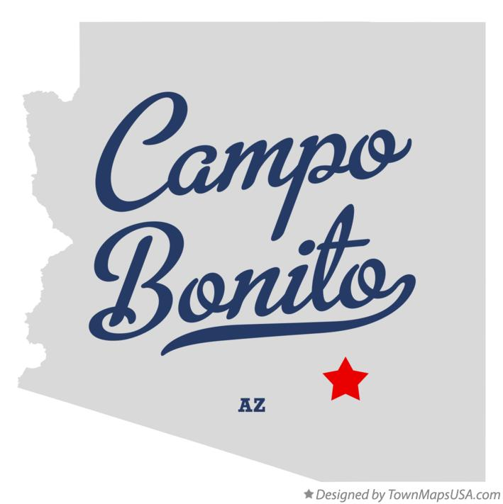 Map of Campo Bonito Arizona AZ