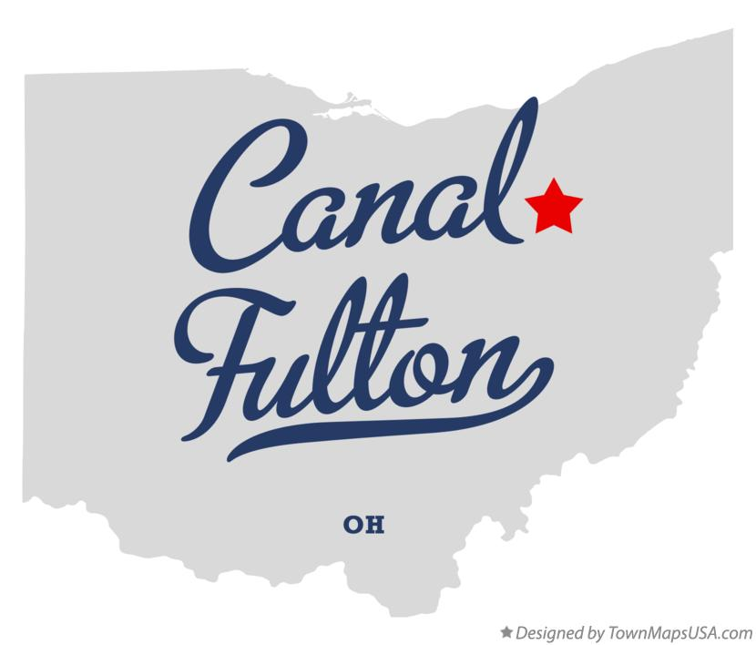 Map of Canal Fulton Ohio OH