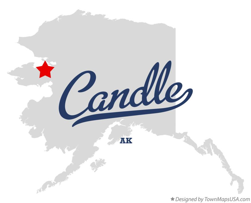 Map of Candle Alaska AK