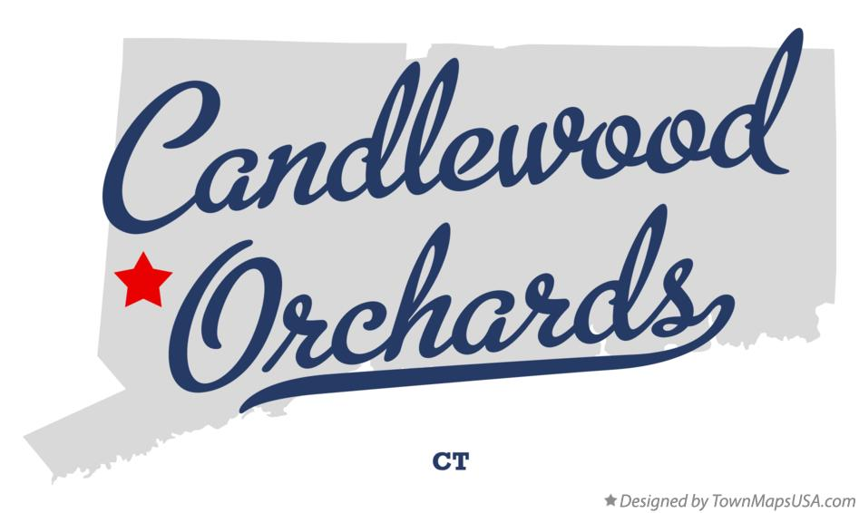 Map of Candlewood Orchards Connecticut CT