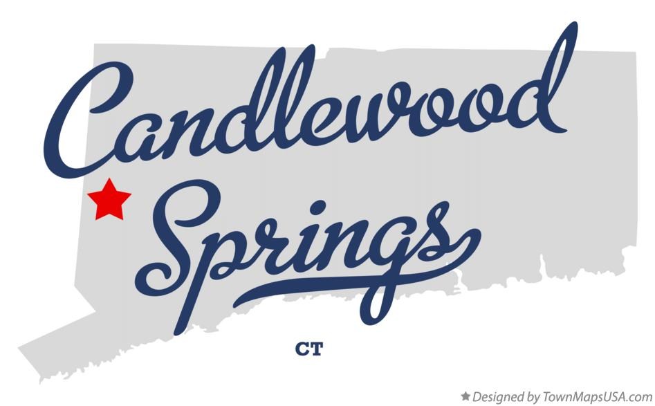 Map of Candlewood Springs Connecticut CT