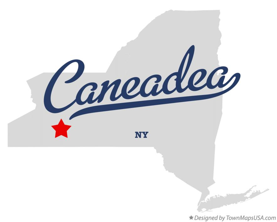 Map of Caneadea New York NY