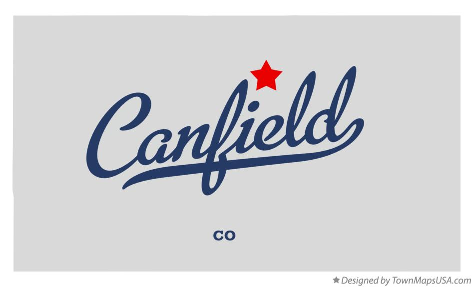 Map of Canfield Colorado CO