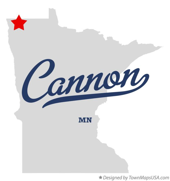 Map of Cannon Minnesota MN