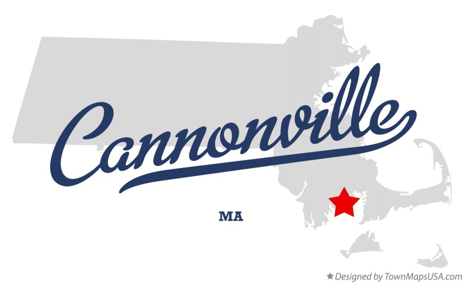 Map of Cannonville Massachusetts MA