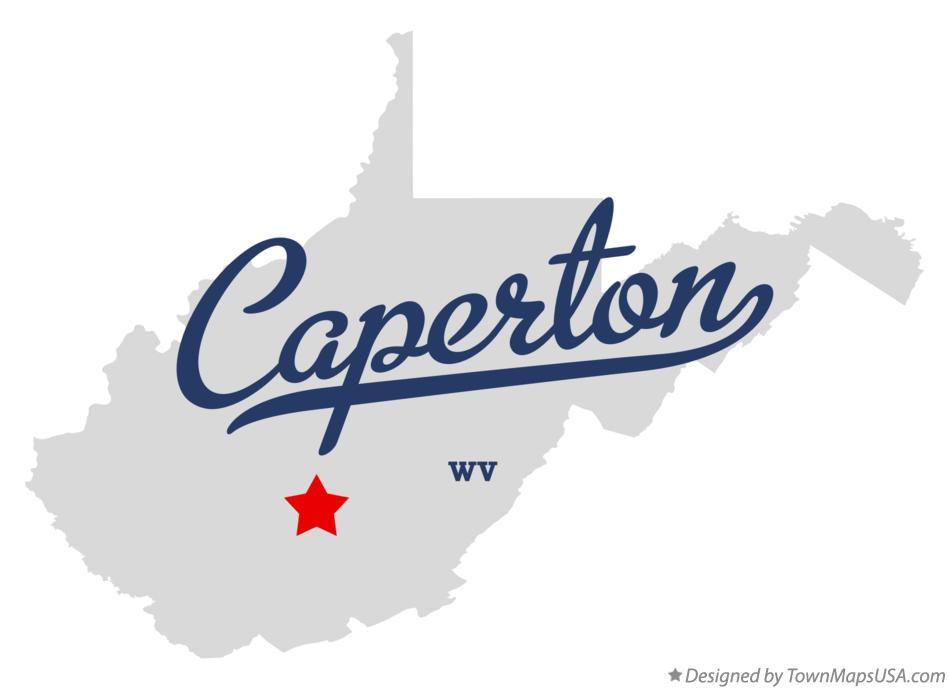 Map of Caperton West Virginia WV