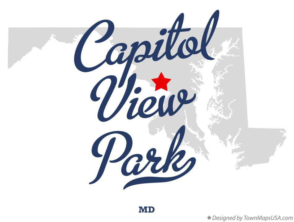 Map of Capitol View Park Maryland MD