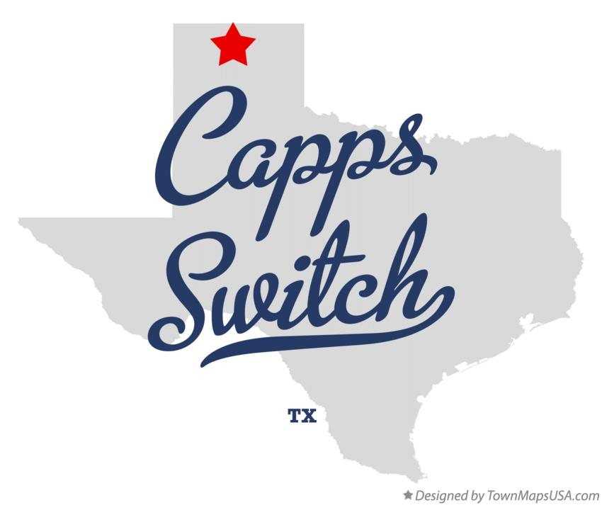 Map of Capps Switch Texas TX