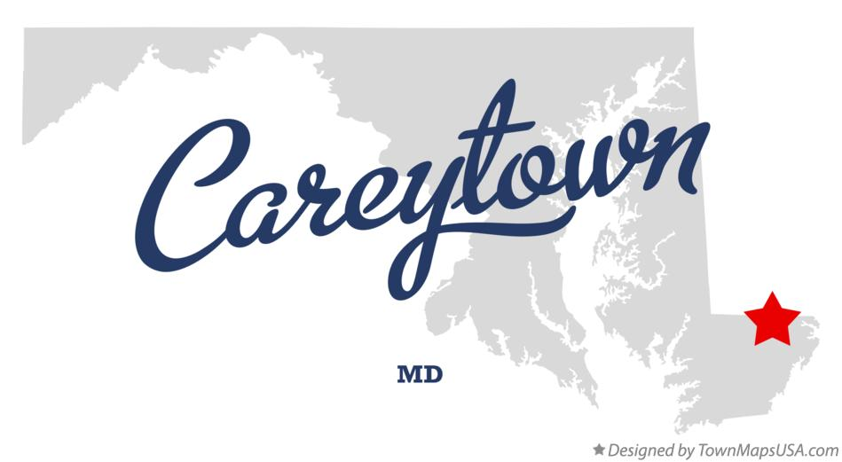 Map of Careytown Maryland MD