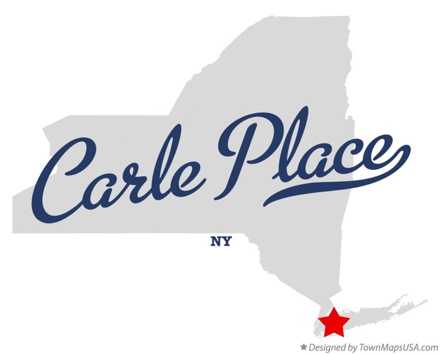 Map of Carle Place New York NY