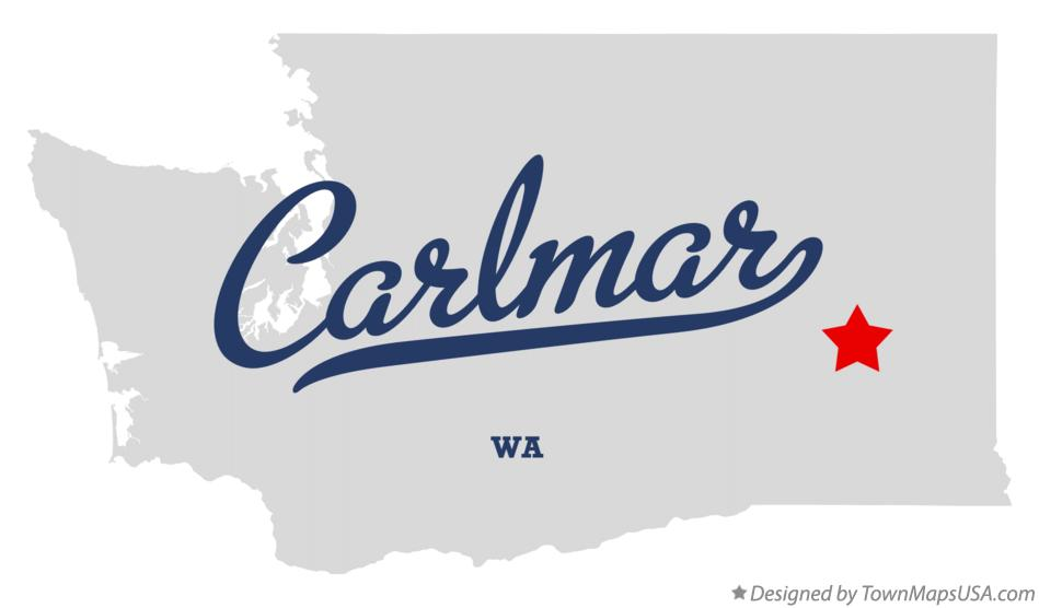 Map of Carlmar Washington WA