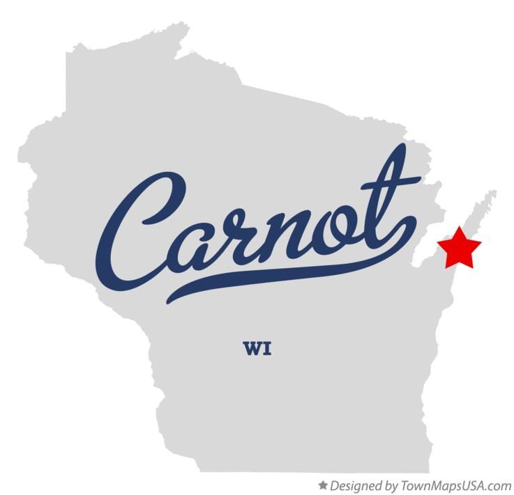 Map of Carnot Wisconsin WI