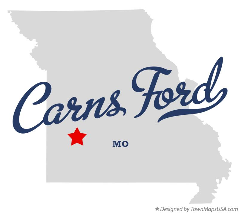 Map of Carns Ford Missouri MO