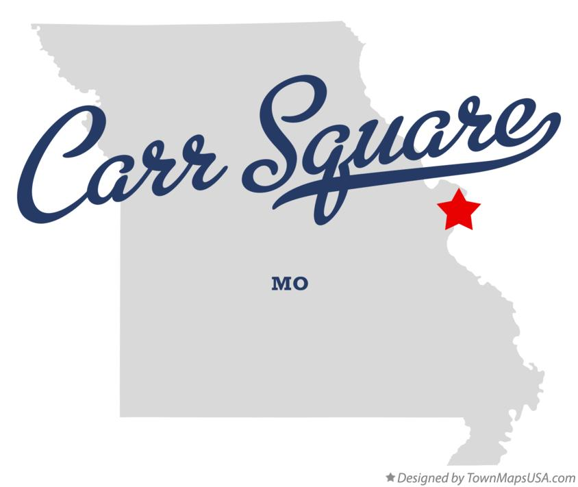 Map of Carr Square Missouri MO