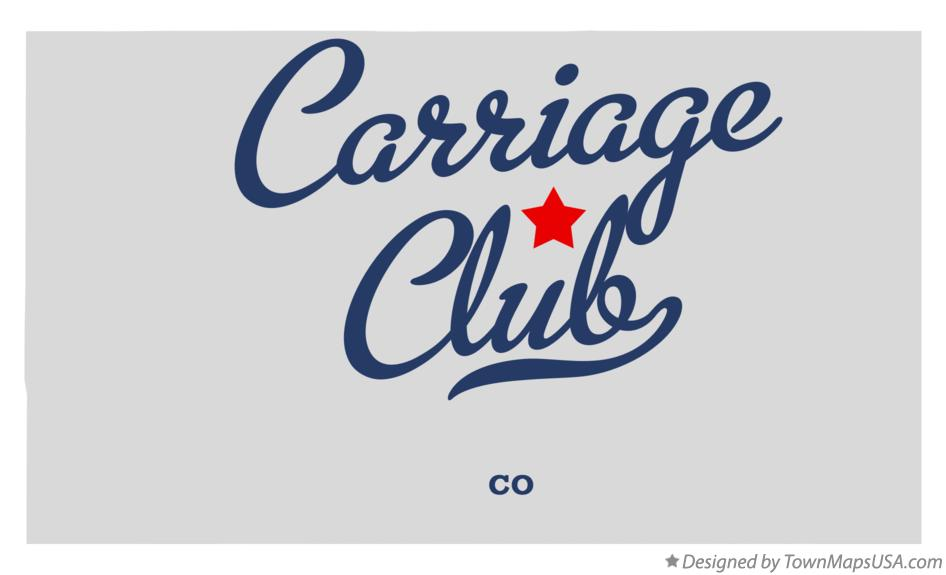 Map of Carriage Club Colorado CO
