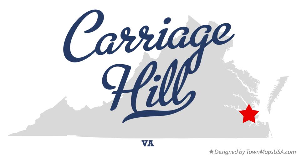Map of Carriage Hill Virginia VA
