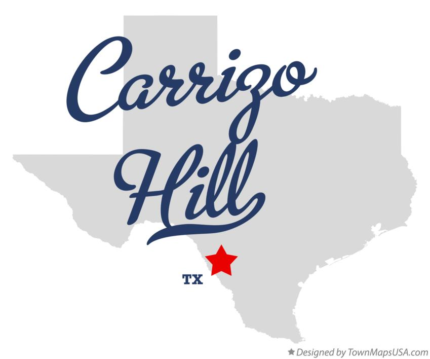 Map of Carrizo Hill Texas TX
