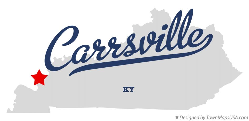 Map of Carrsville Kentucky KY