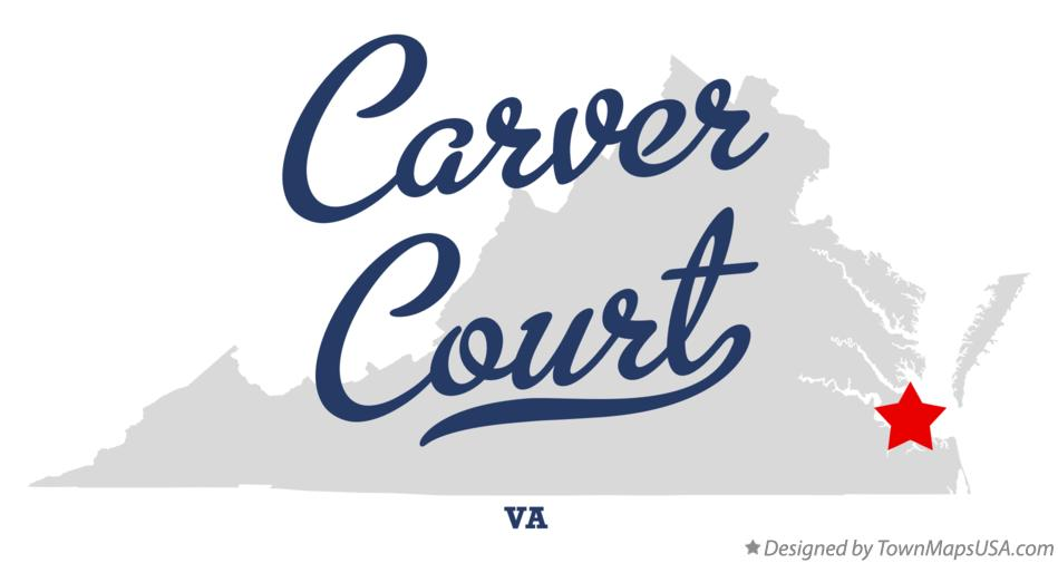 Map of Carver Court Virginia VA