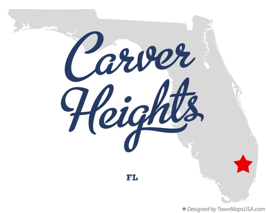 Map of Carver Heights Florida FL