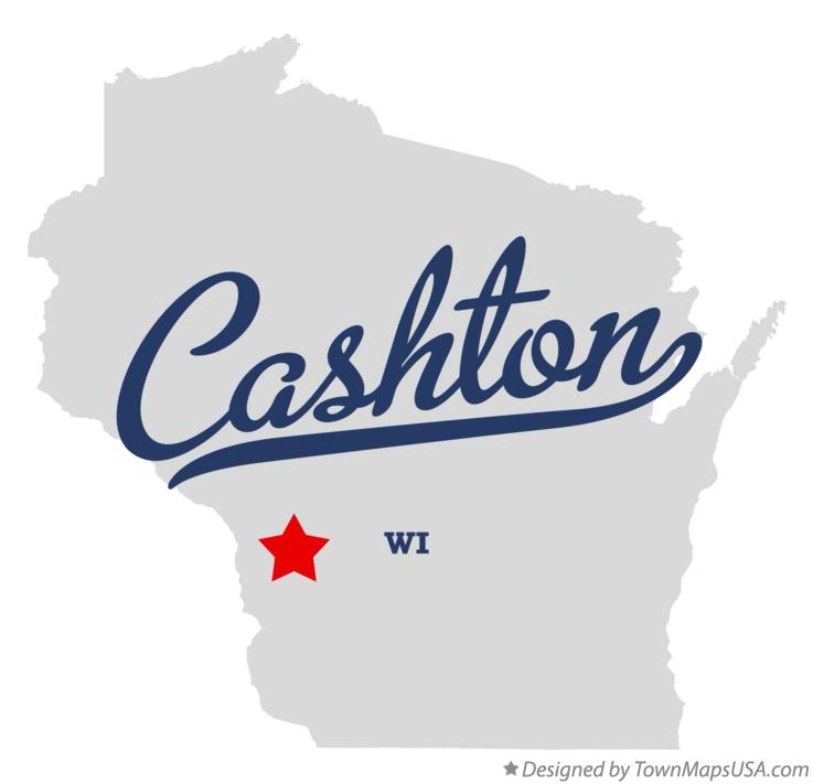 Map of Cashton Wisconsin WI