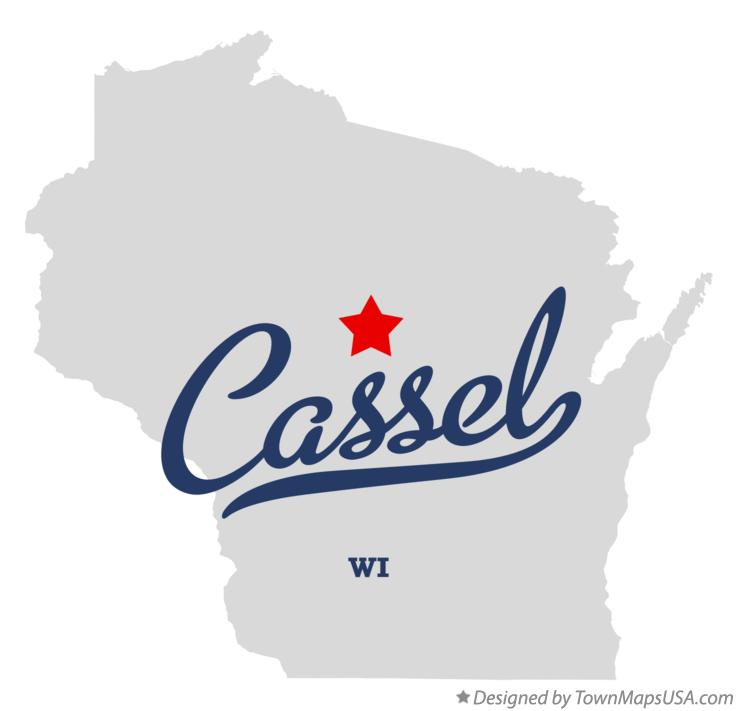 Map of Cassel Wisconsin WI