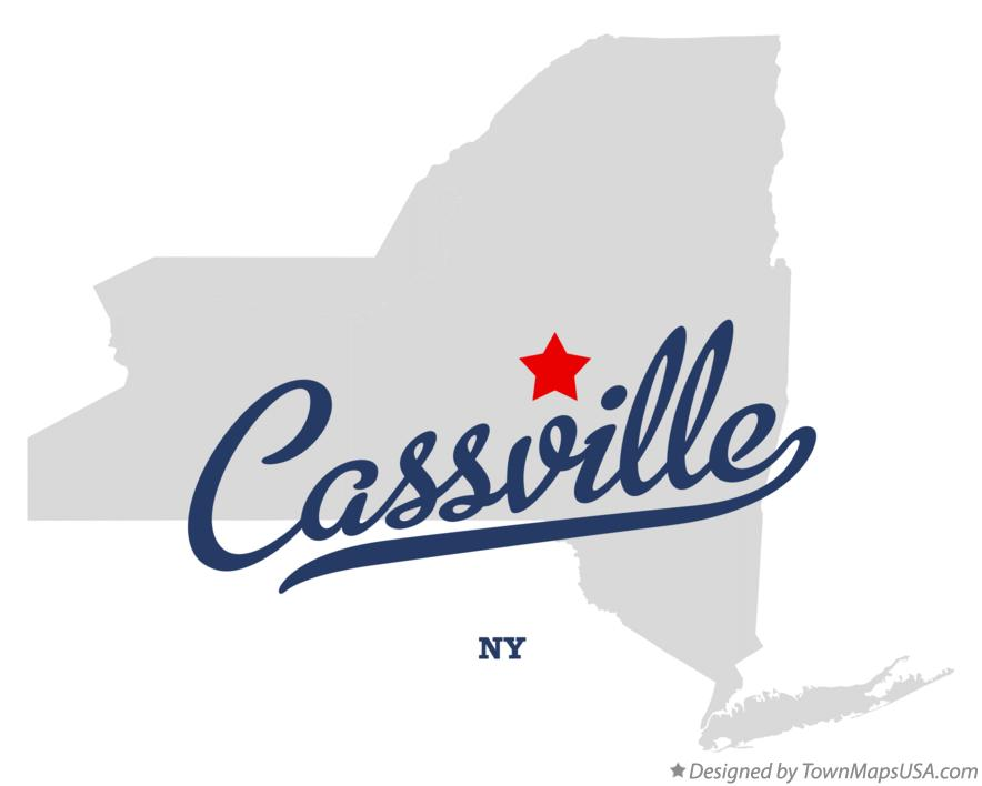 Map of Cassville New York NY