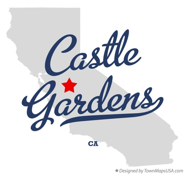 Map of Castle Gardens California CA