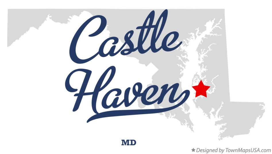 Map of Castle Haven Maryland MD