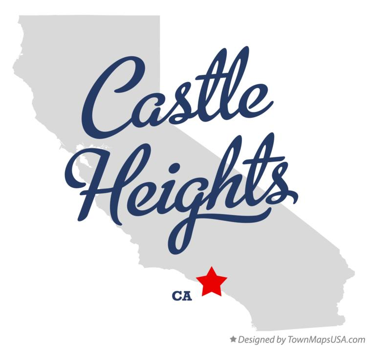 Map of Castle Heights California CA
