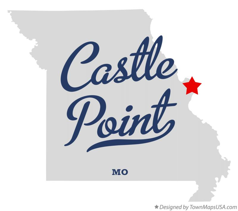 Map of Castle Point Missouri MO