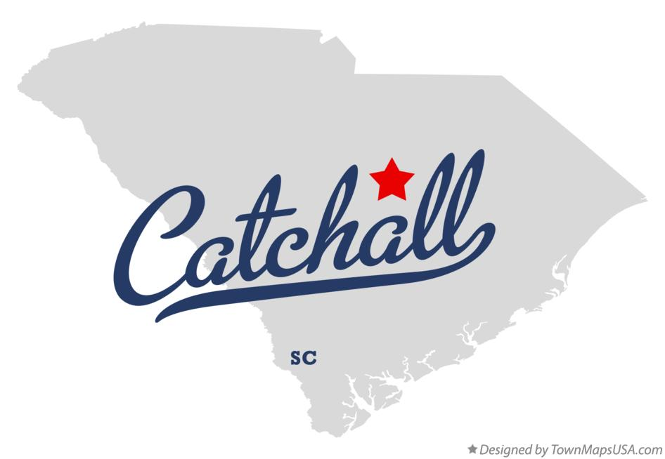 Map of Catchall South Carolina SC