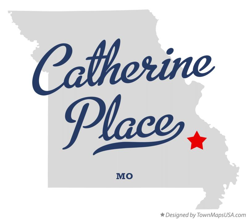 Map of Catherine Place Missouri MO