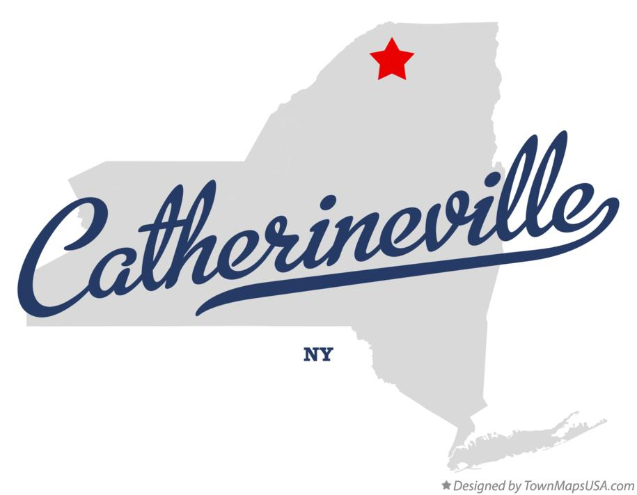 Map of Catherineville New York NY