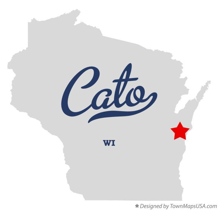 Map of Cato Wisconsin WI