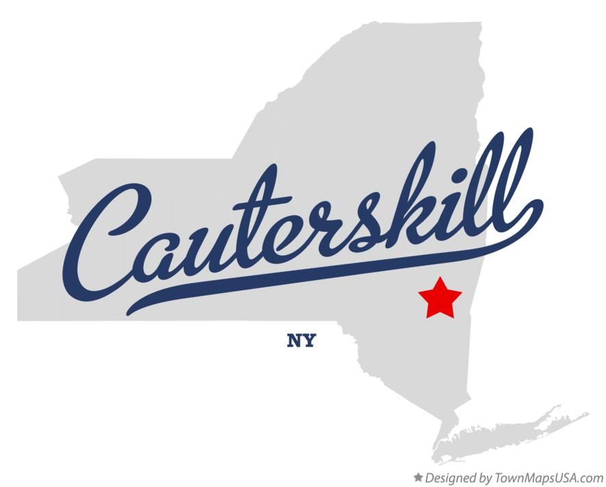 Map of Cauterskill New York NY