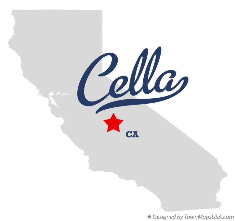 Map of Cella California CA