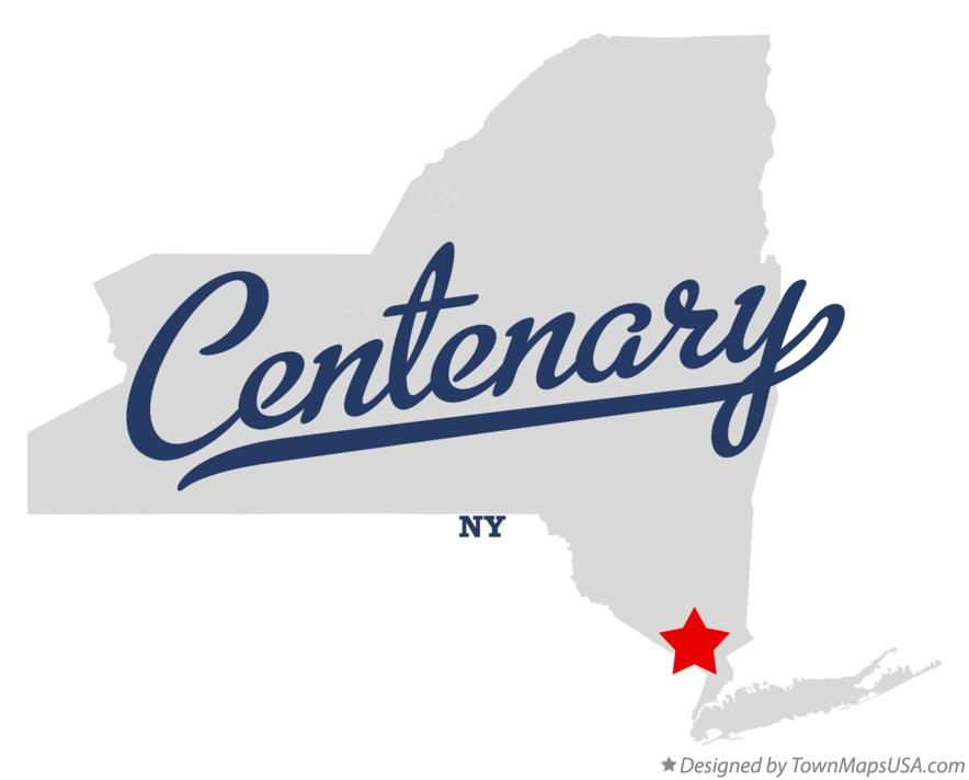 Map of Centenary New York NY