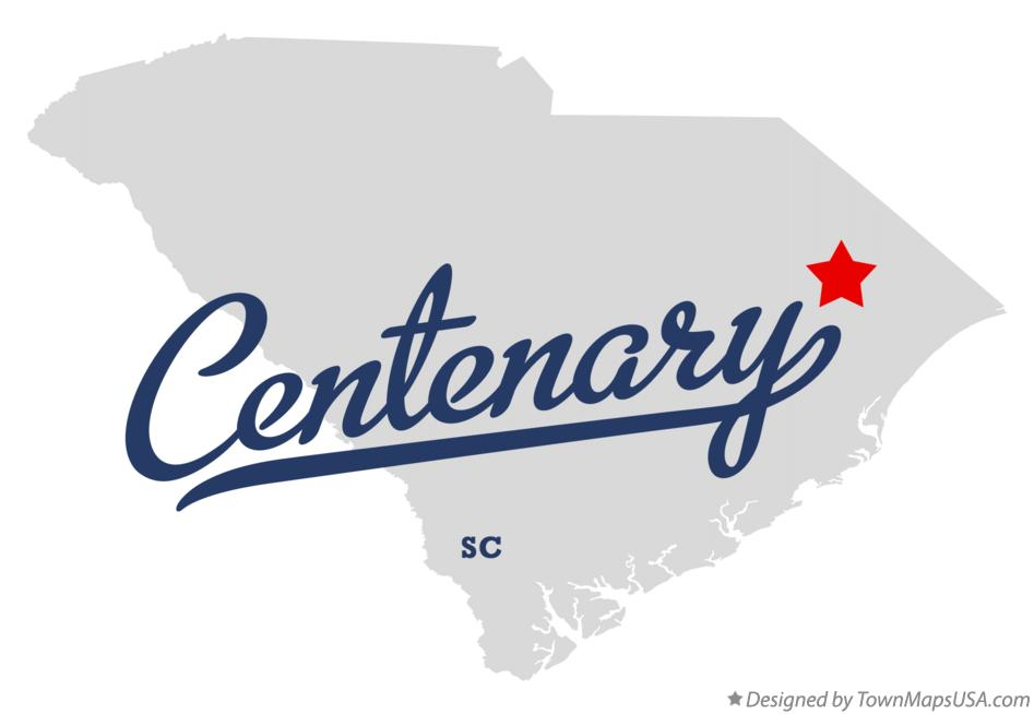 Map of Centenary South Carolina SC