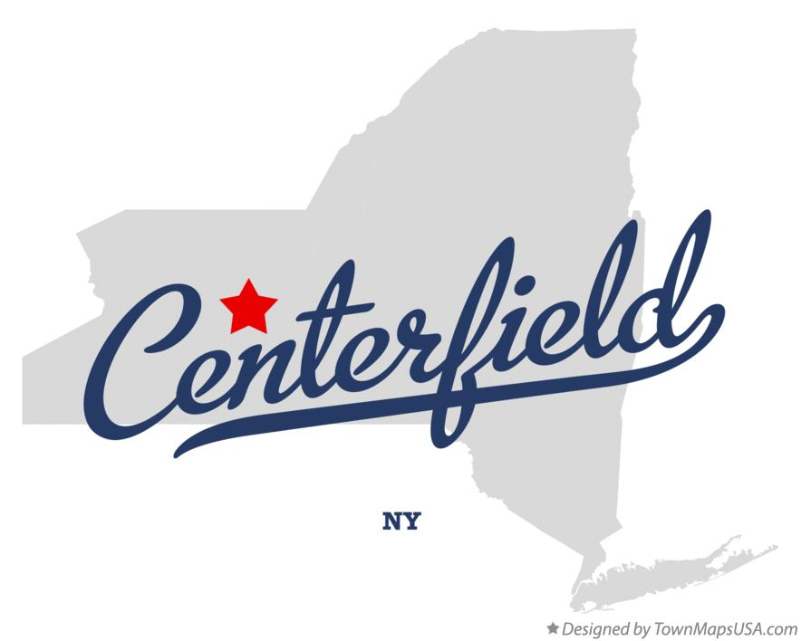 Map of Centerfield New York NY