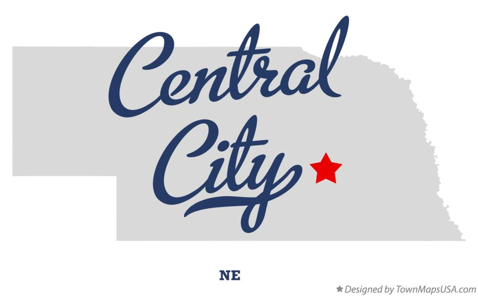 map of central city ne Quilting: Pass It On
