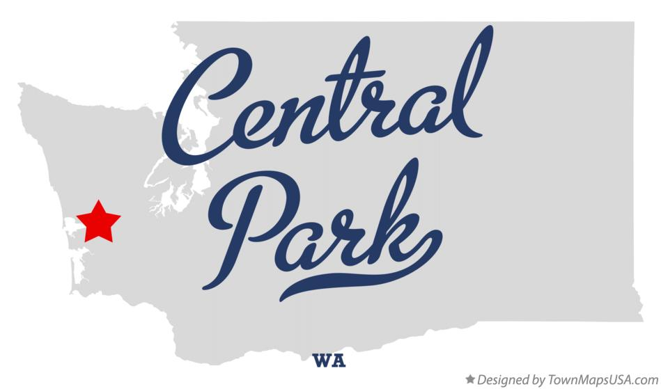 Map of Central Park Washington WA