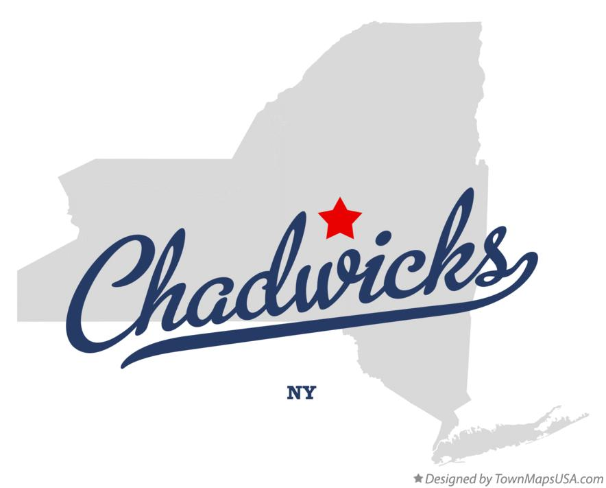 Map of Chadwicks New York NY