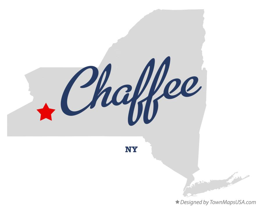 Map of Chaffee New York NY