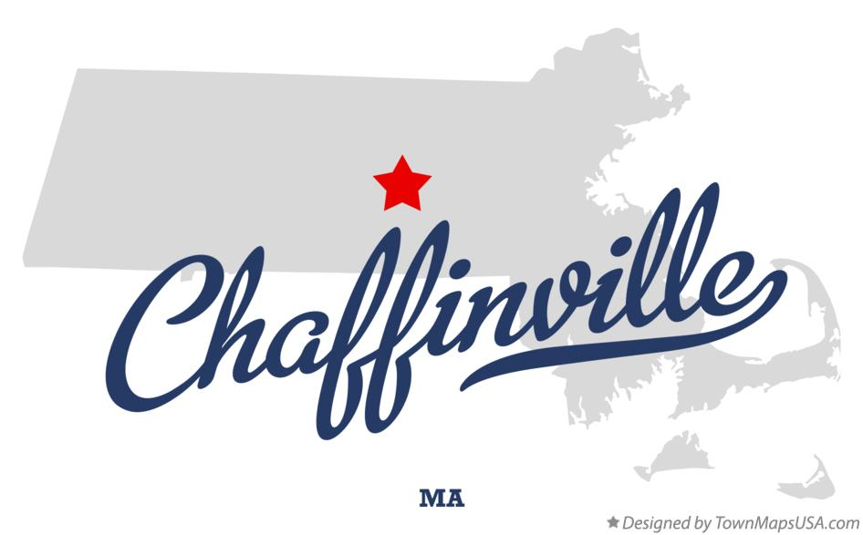 Map of Chaffinville Massachusetts MA