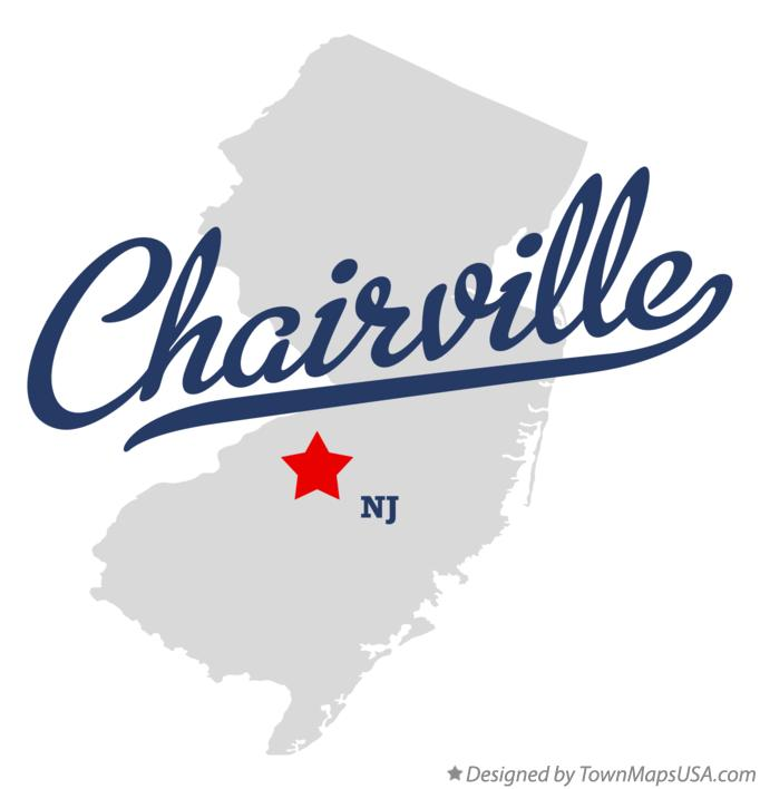 Map of Chairville New Jersey NJ