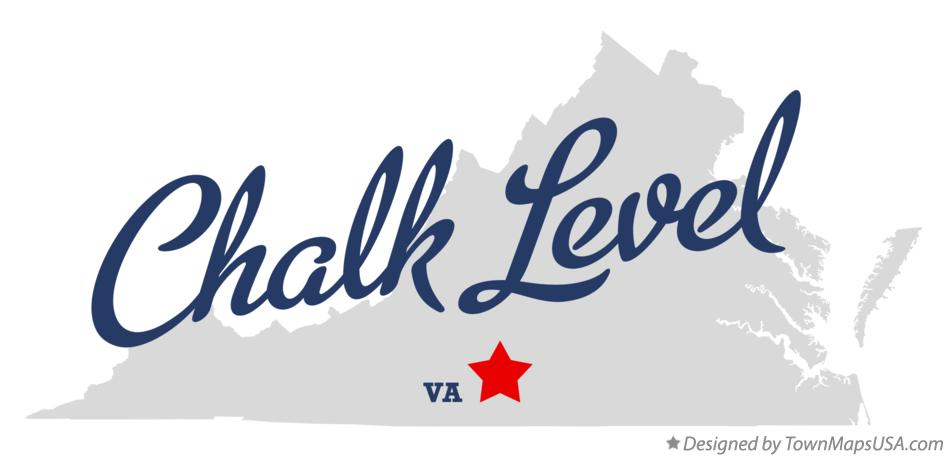 Map of Chalk Level Virginia VA