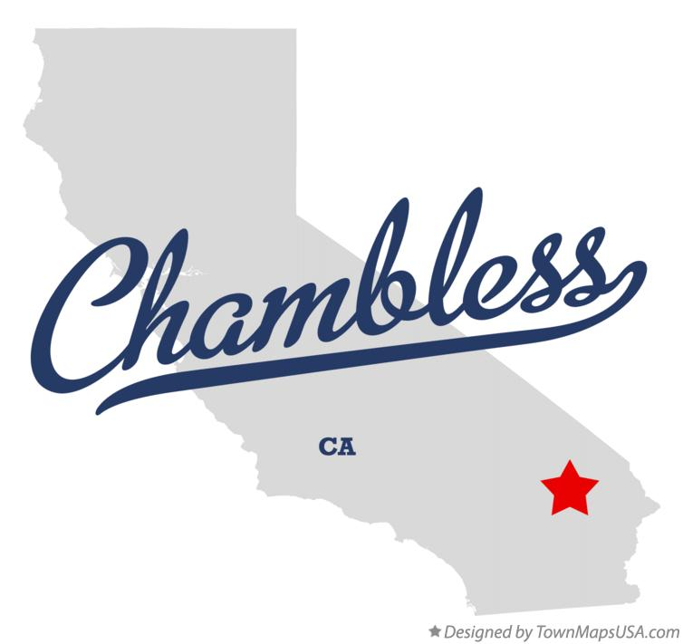 Map of Chambless California CA