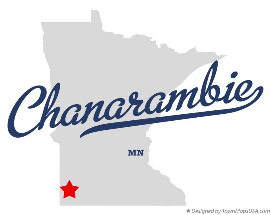 Map of Chanarambie Minnesota MN
