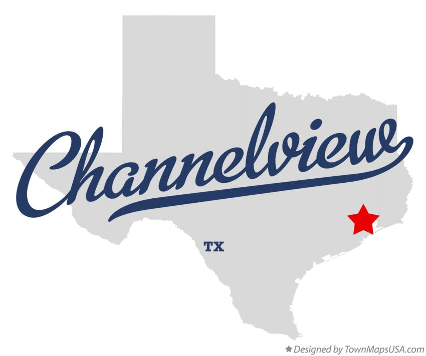 Map of Channelview Texas TX